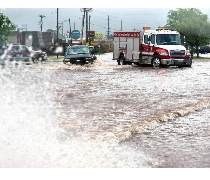 Flood Waters in Amarillo, TX