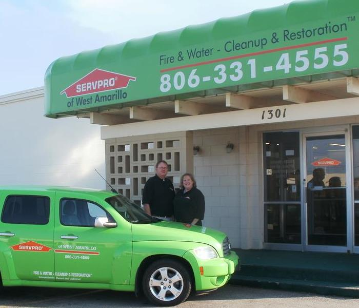 General For Immediate Service in Amarillo, Tx: Call SERVPRO of West Amarillo