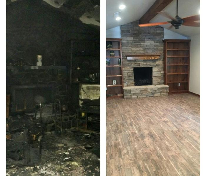 Fire Damage Title: SERVPRO of West Amarillo Smoke and Soot Cleanup